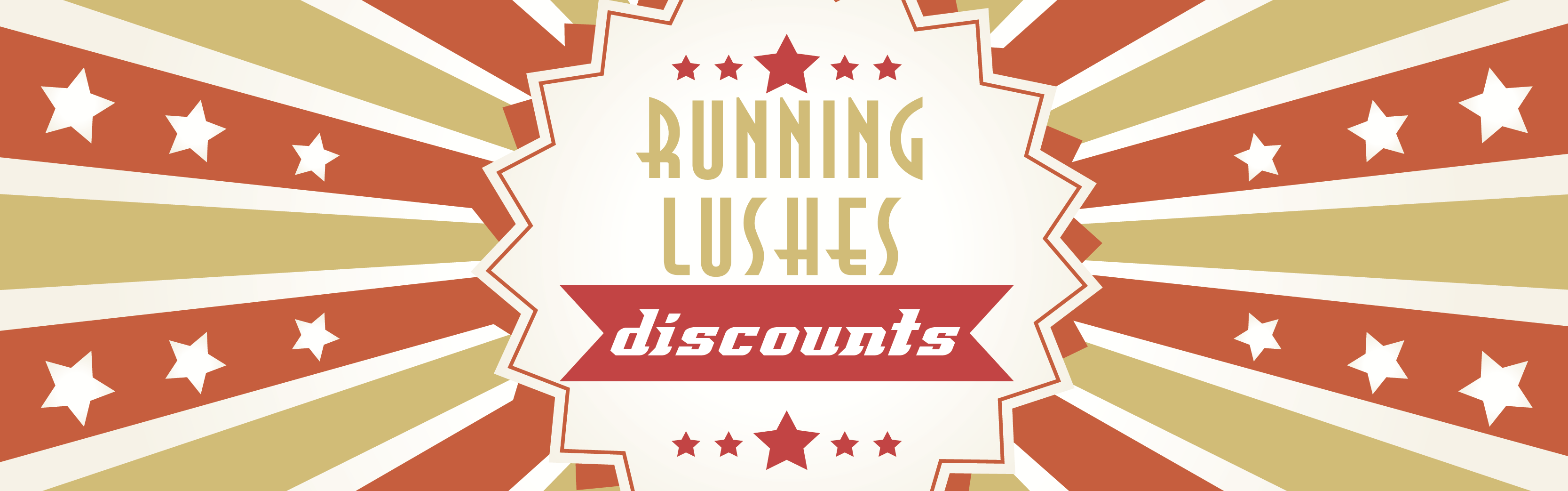 A cheap joke! Save on races and events with Running Lushes discounts